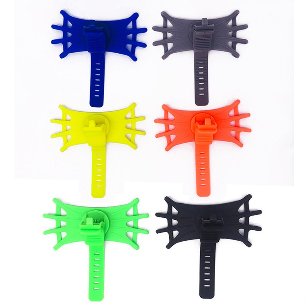 Fashion Popular Baby Stroller Bike Bicycle Mobile Phone Holder Elastic Silicone Stand Bracket