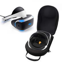 цена на Newest EVA Hard Storage Travel Carrying Box Cover Bag Case for Sony Playstation 4 PS4 VR(PSVR) Virtual Reality Headset