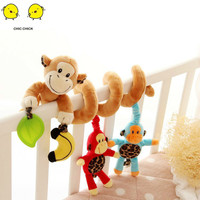 New Activity Spiral Stroller Seat Hanging Toys Baby Rattles Toy crib mobile soft toys for bavies