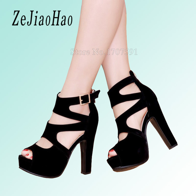 b8686f89e6b 2017 new summer strappy heels platform woman sandals