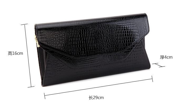 ASNK – sac à main en cuir véritable de Crocodile pour femmes, sac à bandoulière, pochette de soirée, portefeuille, sacoche à chaîne, nouvelle collection 2016