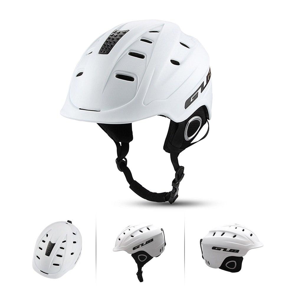 GUB снег спортивный шлем Зимний ветрозащитный Велоспорт безопасность наружные спортивные очки лыжный шлем для сноуборда Регулируемая Вентиляция Новый - 3