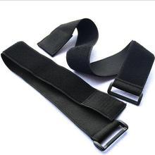 1 шт. 5 см* 50 см эластичный крюк и петля кабельные стяжки с пряжкой крюк петли ремни ремень черный крепежная лента для багажа