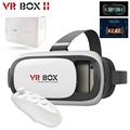 NEW Google cardboard VR BOX II 2.0 Version VR Virtual Reality 3D Glasses For 3.5 - 6.0 inch Smartphone+Bluetooth Controller 5.0