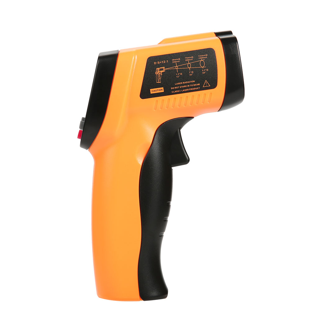 BENETECH GM550 IR Infrared Thermometer LCD Non-Contact Digital Temperature Meter -50-550 Degree Pyrometer
