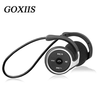 Sports Bluetooth headset supports 32G TF card FM radio portable after hanging headphones