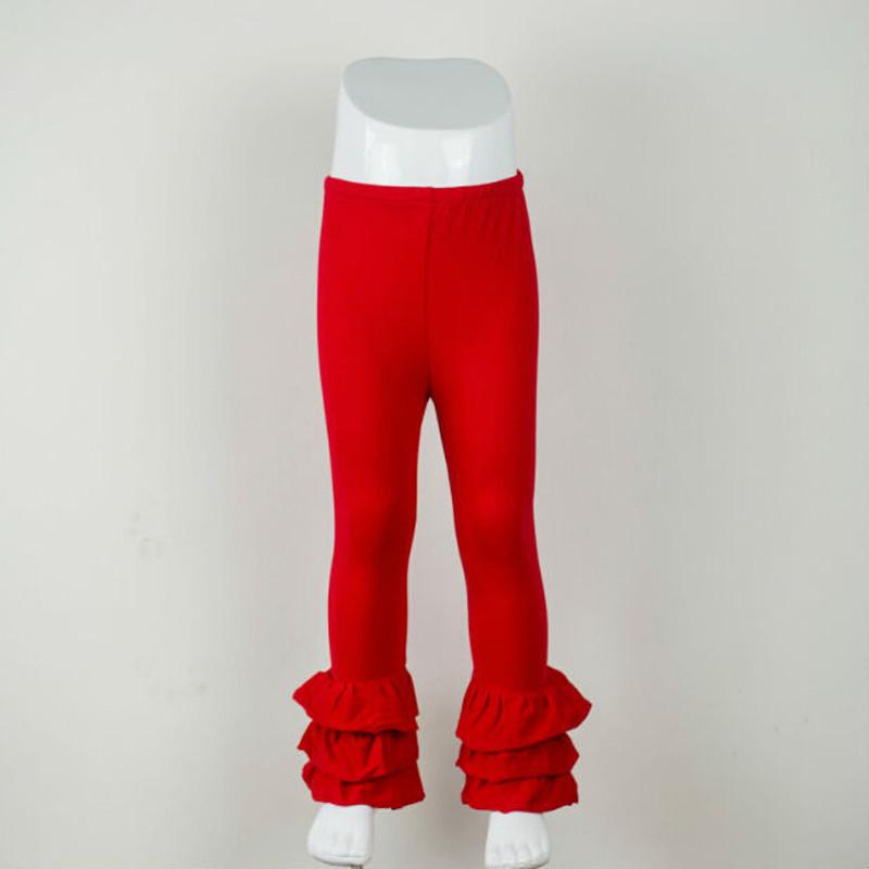 494c7988b Buenos Ninos Baby Girl Ruffle Leggings Kids 100% Cotton Trousers ...