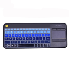 Epsl Waterproof Dustproof wireless Keyboard Cover For Logitech K400 PLUS Professional Ultrathin keyboard Protective film