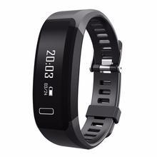 H28 smart Сердечного ритма Мониторы Bluetooth 4.0 SmartBand шагомер Фитнес трекер сна Мониторы браслет для iOS и Android