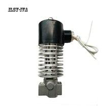 G1/2 DN15 AC220V stainless steel screw heat transfer oil steam solenoid valve