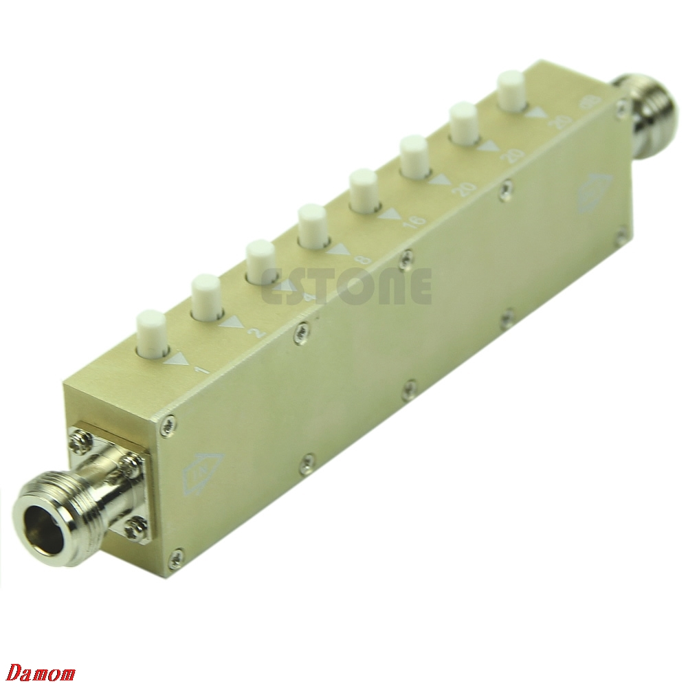 Adjustable Key-Press Variable Attenuator 5W 0-90dBi DC-2.5GHZ 50ohm 8-key MY8_10Adjustable Key-Press Variable Attenuator 5W 0-90dBi DC-2.5GHZ 50ohm 8-key MY8_10