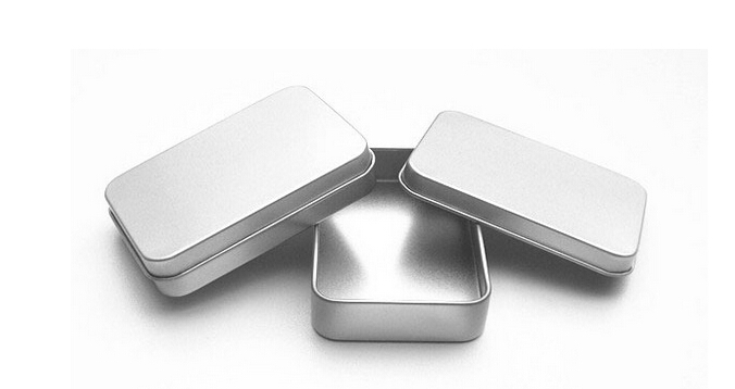 Size 87x60x17mm plain tin box Small tin tea box tea tin security key box pehcans usb