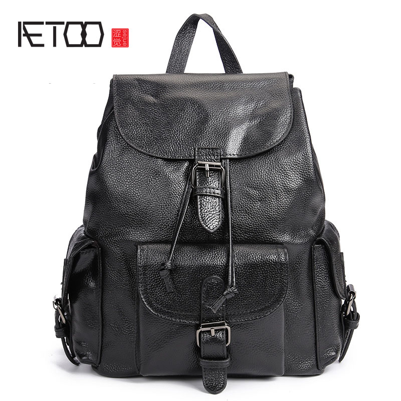 AETOO new leather leather Korean version of the wave of shoulder bags simple leisure travel bag backpack giant teddy bear plush soft toys doll bear sleep girls gifts birthday kawaii large teddy bear stuffed animal plush toy 70c0426