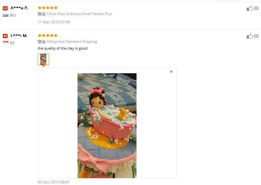 BOHS Playdough Polymorph Light Clay Plasticine Eco-friendly Play Dough , Air Dry, 1Bag=80 Grams