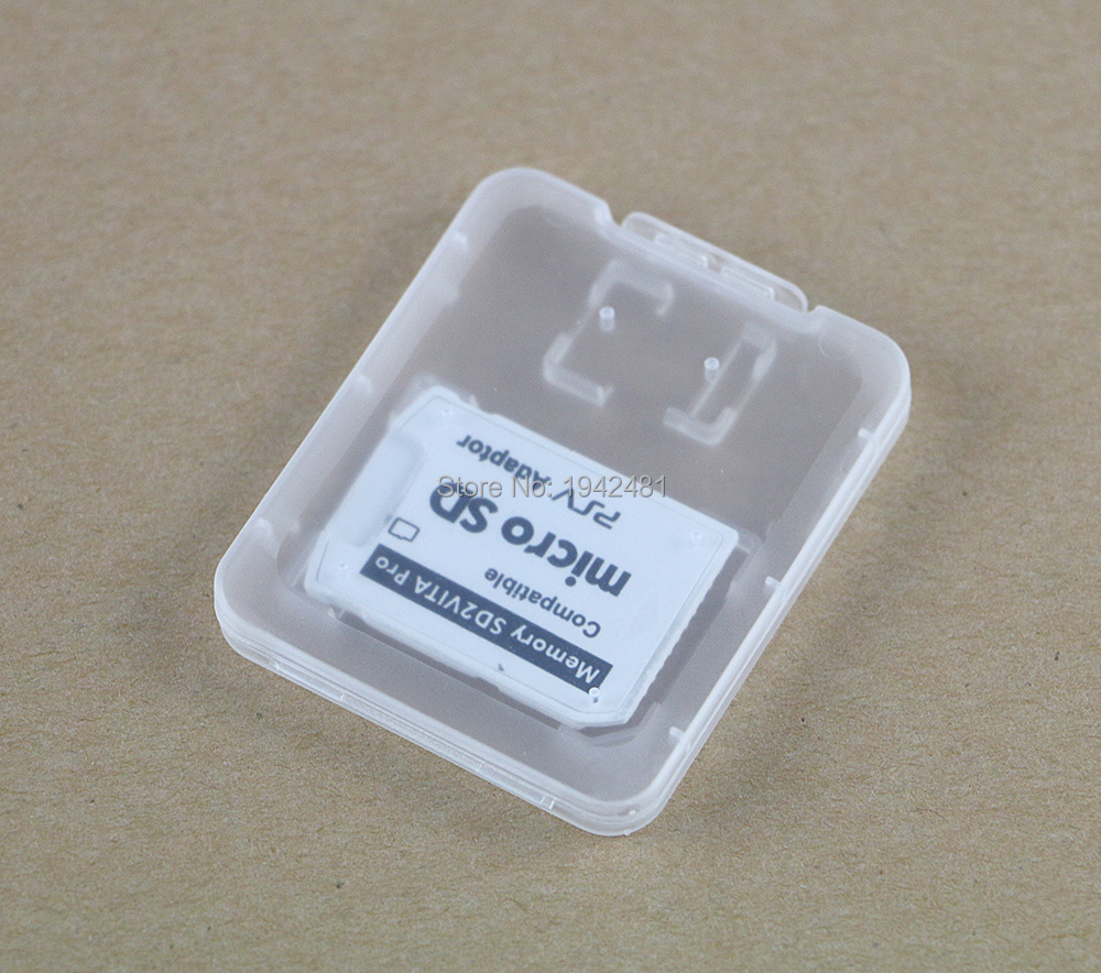 100pcs lot Vsd2vita 5 0 Version5 0 SD2Vita For PSVita 1000 2000 Memory Game Card to