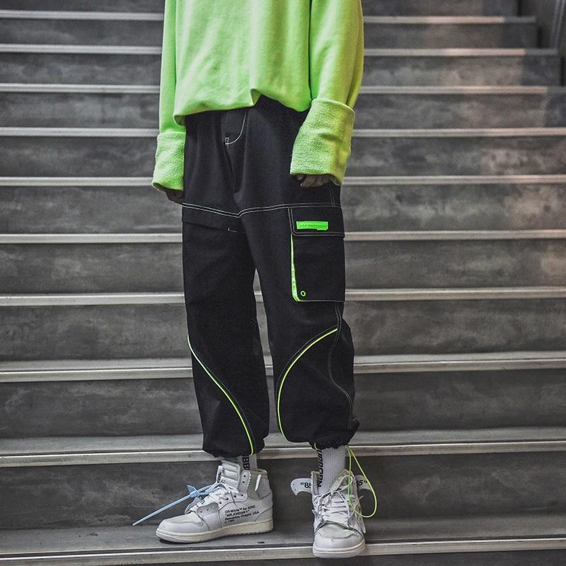 Sinnvoll Männer High Street Casual Harem Hose Männlichen Fashion Cargo Hosen Street Hip Hop Hosen Jogger Jogginghose