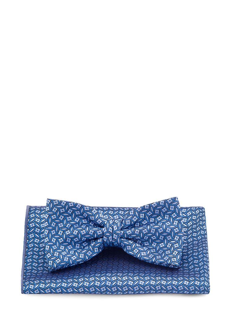 Фото - [Available from 10.11] Bow tie men's handkerchief CARPENTER carpenter poly 2 Golub 710 1 134 blue [available from 10 11] bow tie male carpenter carpenter poly 6 blue 512 1 15 blue