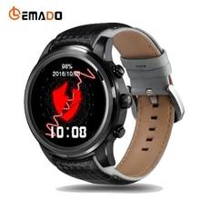 Lemado LEM5 Bluetooth Smart Watch 1.39 Inches RAM 1GB + 8GB Relogio Smartwatch GPS WiFi SIM Card Wristwatch For Android IOS