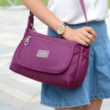 Cloth shake Fashion Lady Handbag Shoulder Bag waterproof Nylon Women Hobo Messenger bags(China (Mainland))