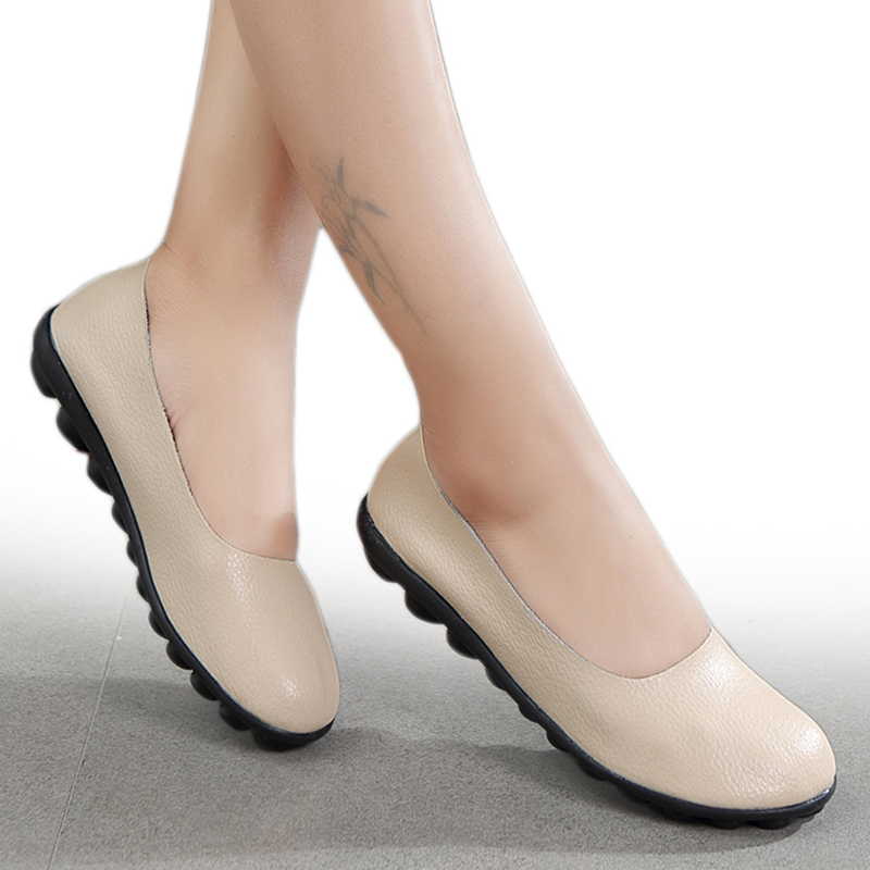 New Ladies Low Flat Loafers Bow School Work Dolly Smart Escarpins Shoes Office Size