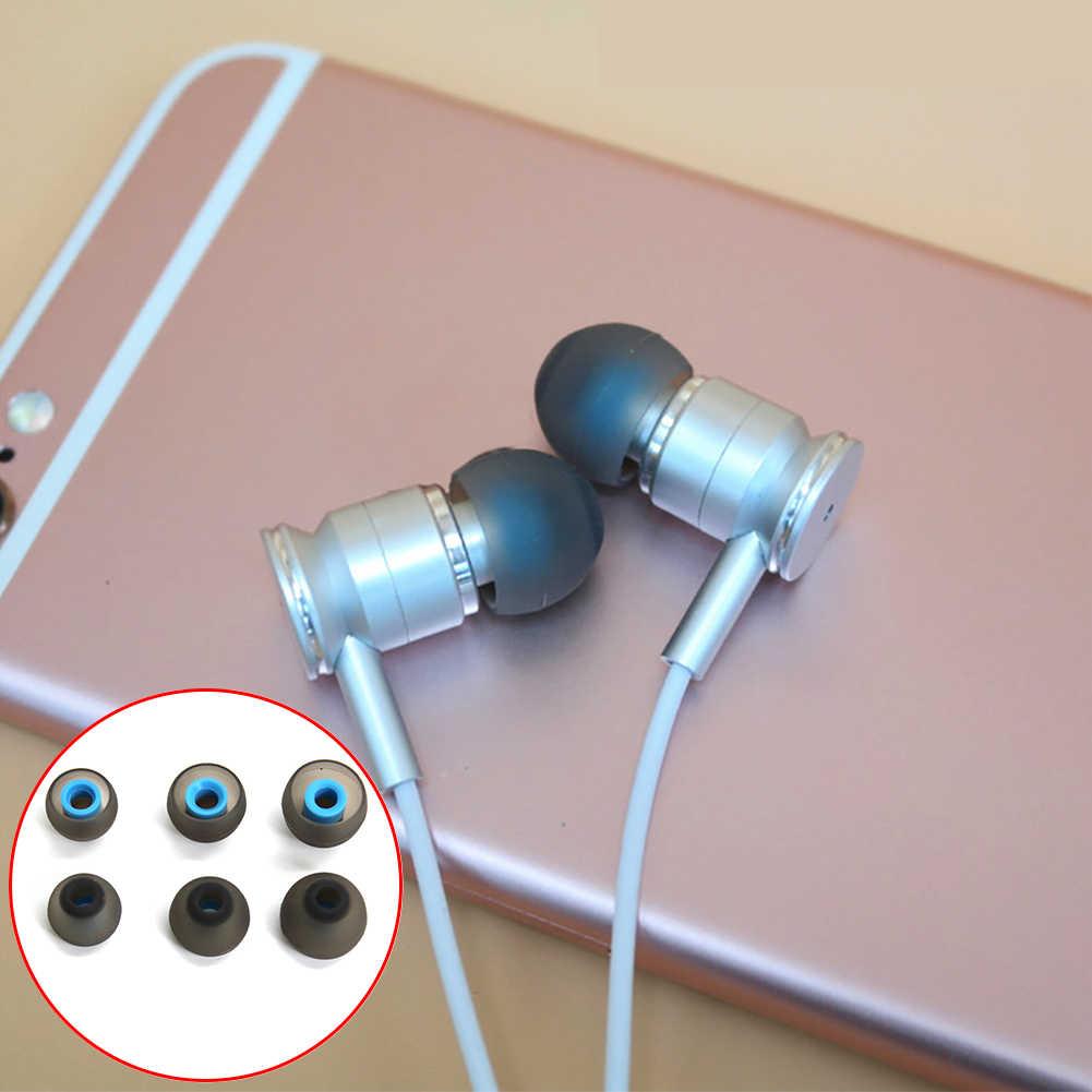 Auriculares universales almohadillas para los oídos 1 par L M S en almohadillas para los oídos Auriculares auriculares de silicona para KZ ED10 ED8m