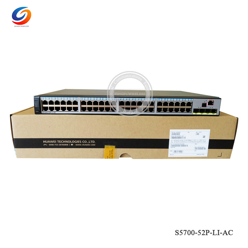 Cellphones & Telecommunications Communication Equipments Original S5700-52p-li-ac Hua Wei Quidway S5700 Series Switch 48 Port Gigabit Ethernet 4 X Ge Sfp Ports Switch Fixing Prices According To Quality Of Products