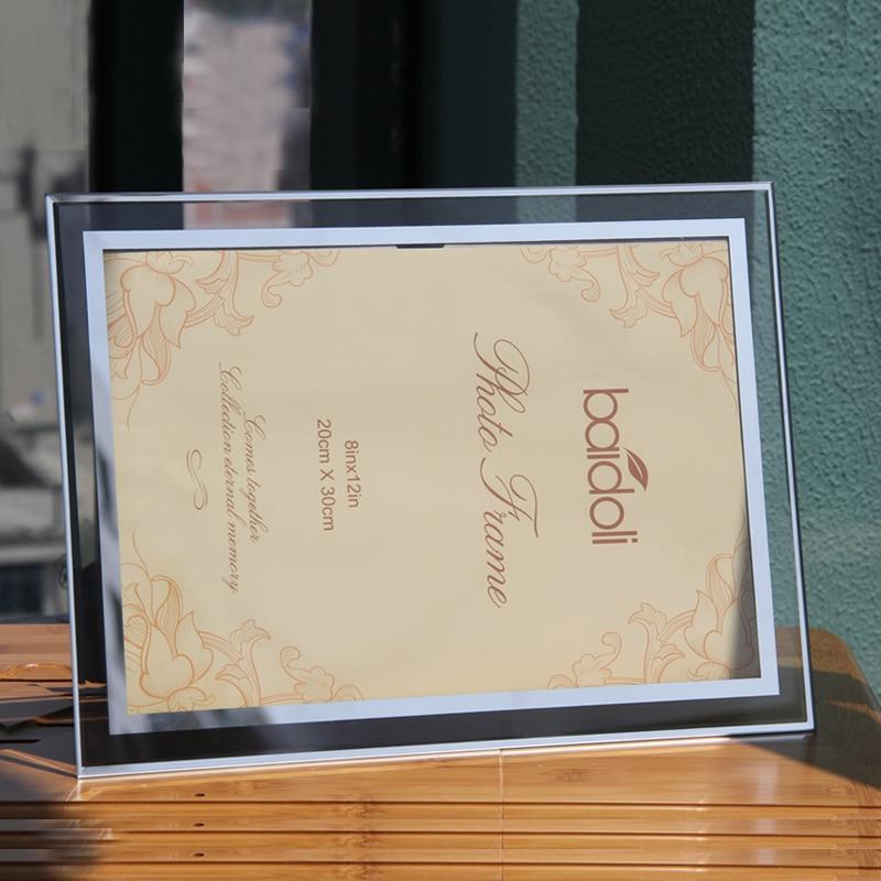 Certificado de Marco de cristal, para todo tipo de certificados 6/7 ...