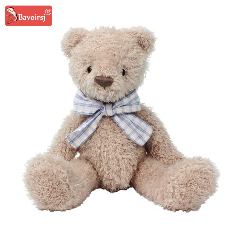 Baby Lovely Bear Soft Fur Baby Toys Plush Toys Animal Girls Sleeping Apease Children's Toy T0318