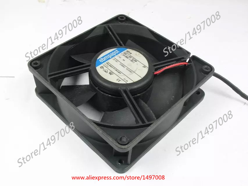 4214 DC 24V 4.3W , 120x120x38mm Server Square fan ebm papst 4800z 4800 z ac 115v 0 16a 0 14a 13w 12w 120x120x38mm server square fan