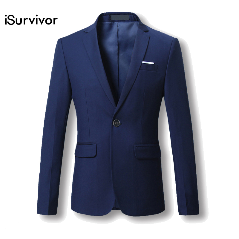 Men Blazer 2018 New Suit Men 5 Colors Casual Jacket Terno Masculino Latest Coat Designs Blazers Men Clothing Plus Size M-6XL
