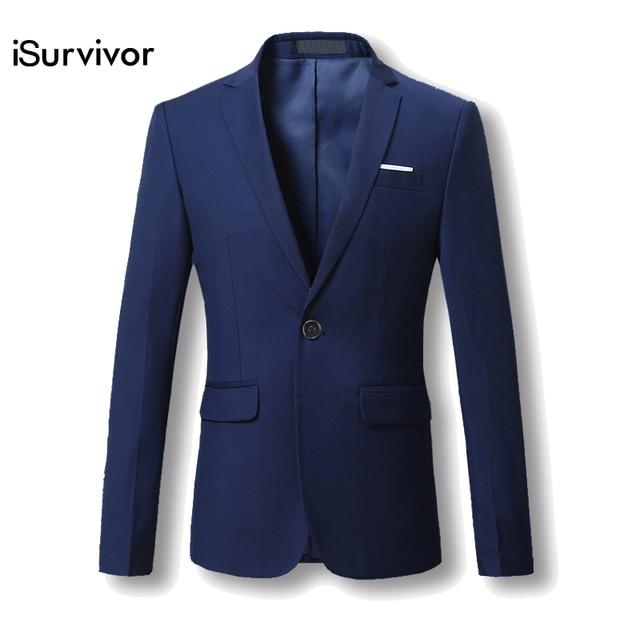 367e601e270 Men Blazer 2018 New Suit Men 5 Colors Casual Jacket Terno Masculino Latest  Coat Designs Blazers Men Clothing Plus Size M-6XL