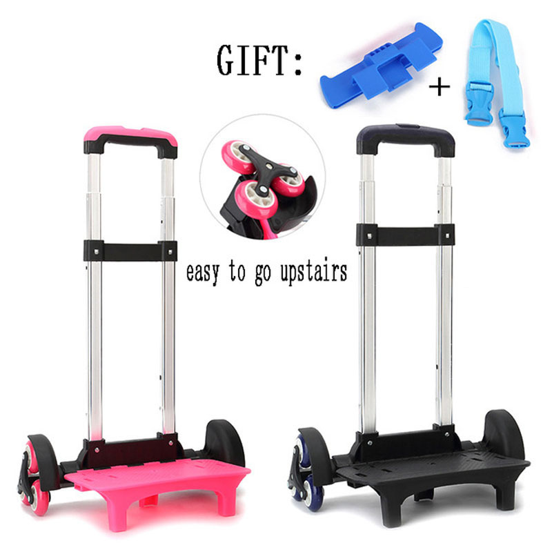 Luggage Trolley Backpack Expandable-Rod School-Bag Kids High-Function Children for 6-wheels/Expandable-rod/High-function/Trolly