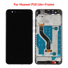 "Display LCD Para HUAWEI P10 Lite Lite Tela LCD com Tela de Toque Digitador Da Tela Para Huawei P10 Quadro P10lite Display 5.2""(China)"