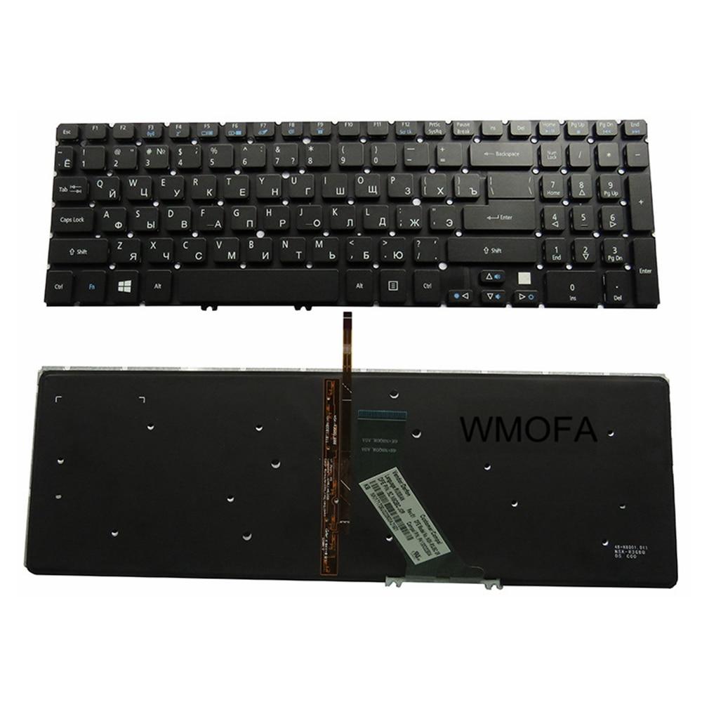 RU Black New FOR ACER V5-571G V5-531G V5-571 581 V5-572 V5-573G V5-573 V5-551G 571PG 531P 531G Laptop Keyboard Russian Backlight