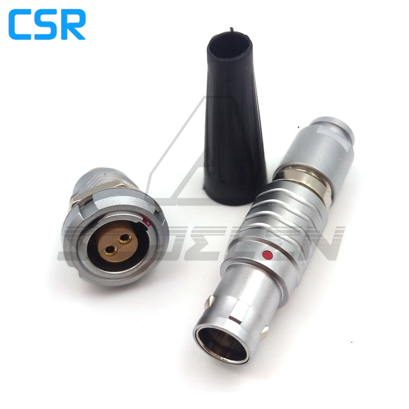 SZJELEN connector 1B series 2 pin Plugs and sockets ,FGG.1B.302.CLAD/ECG.1B.302.CLL, Metal circular power panel mounting yuanhaibo 16 1b 13 x 2 yhb f145