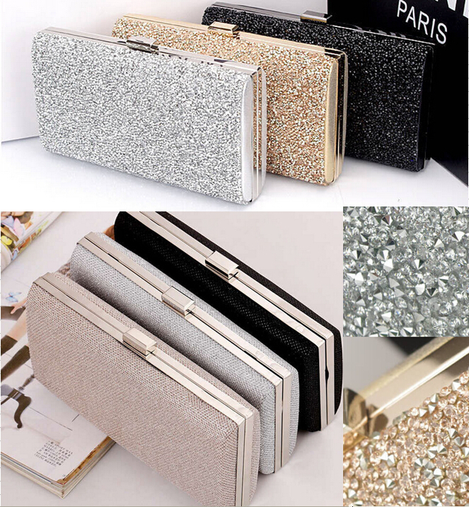 Popular Silver Clutch Wedding-Buy Cheap Silver Clutch Wedding lots ...
