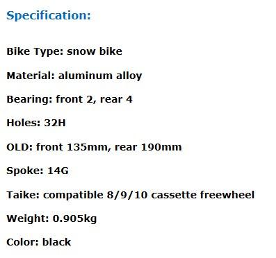 SNOW BIKE HUB 1