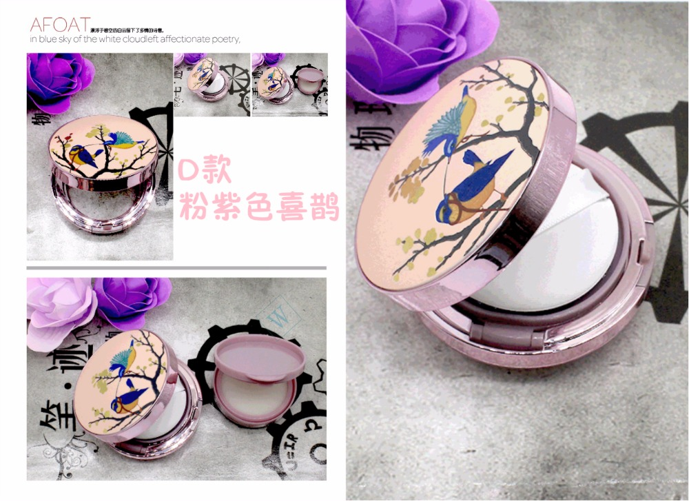 DIY Beauty Make Up Case Air Cushion Sponge Powder Puff Empty Box Liquid Foundation BB Cream Sponge Dispensing Hold maquiagem