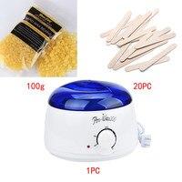 Máy Wax thiết lập Mật Ong hương vị NHỎ Tay SPA Máy Cạo Lông Tóc loại bỏ Đậu Lau Sticks Hot Sáp Ấm Heater Pot Thuốc Làm Rụng Lông Set #925