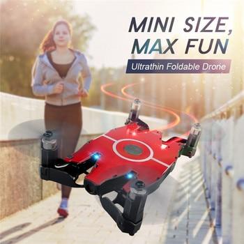 JJR/C JJRC H49 SOL Ultrathin Wifi FPV Selfie Drone 720P Camera Auto Foldable Arm Altitude Hold RC Quadcopter VS H37 H47 E57 1