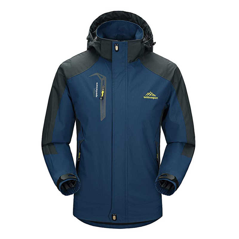 a657d1d8ac3 Men s Ski Suit Jacket Thermal Warmth Snowboarding Jacket Breathable Plus  Size Sports Jacket For Camping Snowing