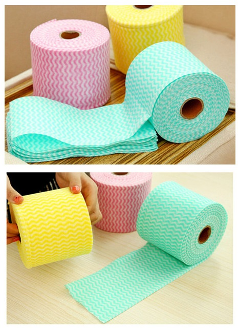 1Pc Wash Cotton Face Towel Disposable Cleaning Cloth Makeup Hand Soothing Towel Random Color