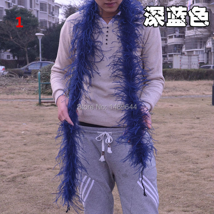 Free shipping feather! 1pcs2 meters long ostrich feather scarf, use: wedding, stage props, home improvement and so on. 001