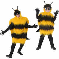 yellow bee costume for adults killer bee cosplay hornet costume funny animal costumes halloween party clothes carnival costume