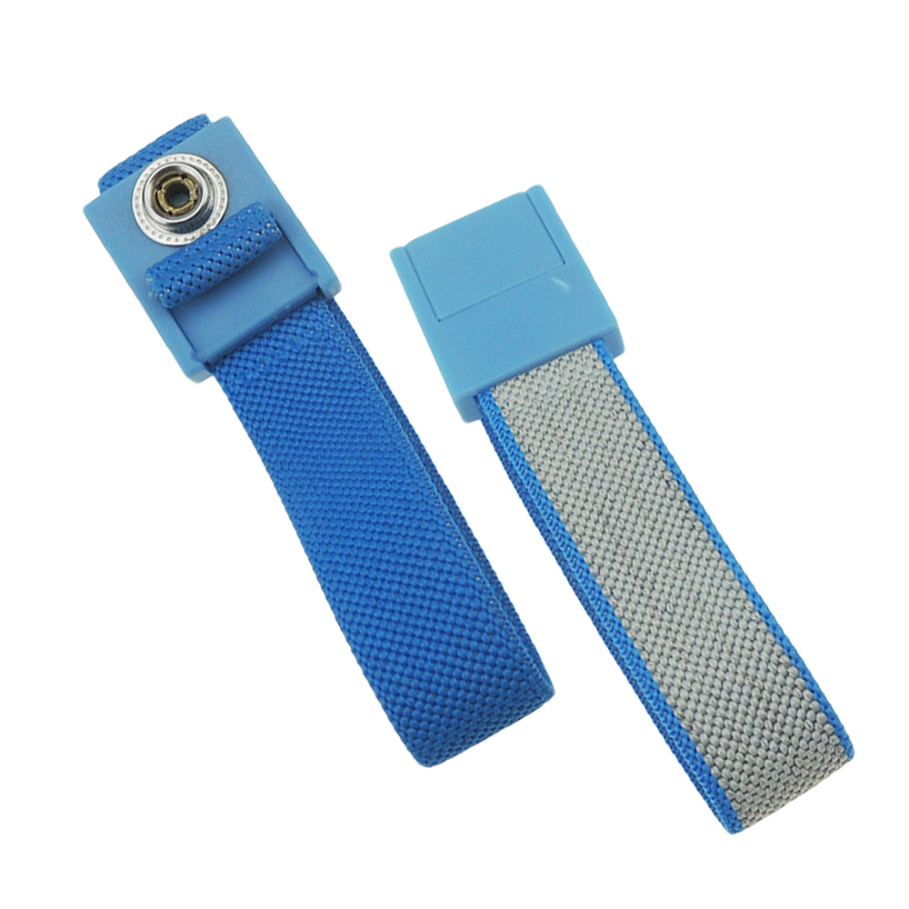 ESD Wrist Strap Fabric High Quality ABS Anti allergic Wrist Band Strap With 1.8meter Earthing Ground Antistatic Wrist Strap 4