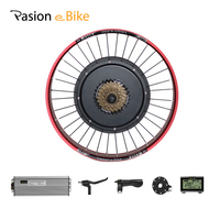 48V 1500W 20inch Rear Bike Electric Bicycle Conversion Kit 190mm Electric Bicycle Kits Hub Motor Electric Bike Rear Motor Wheel