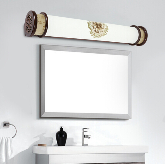 lmparas de pared breve marco de madera tallada chino clsico caliente creativa lmpara de pergamino para