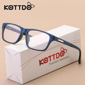 3edc45b729 KOTTDO Eyeglasses Frame Men Women Optical Glasses Frame