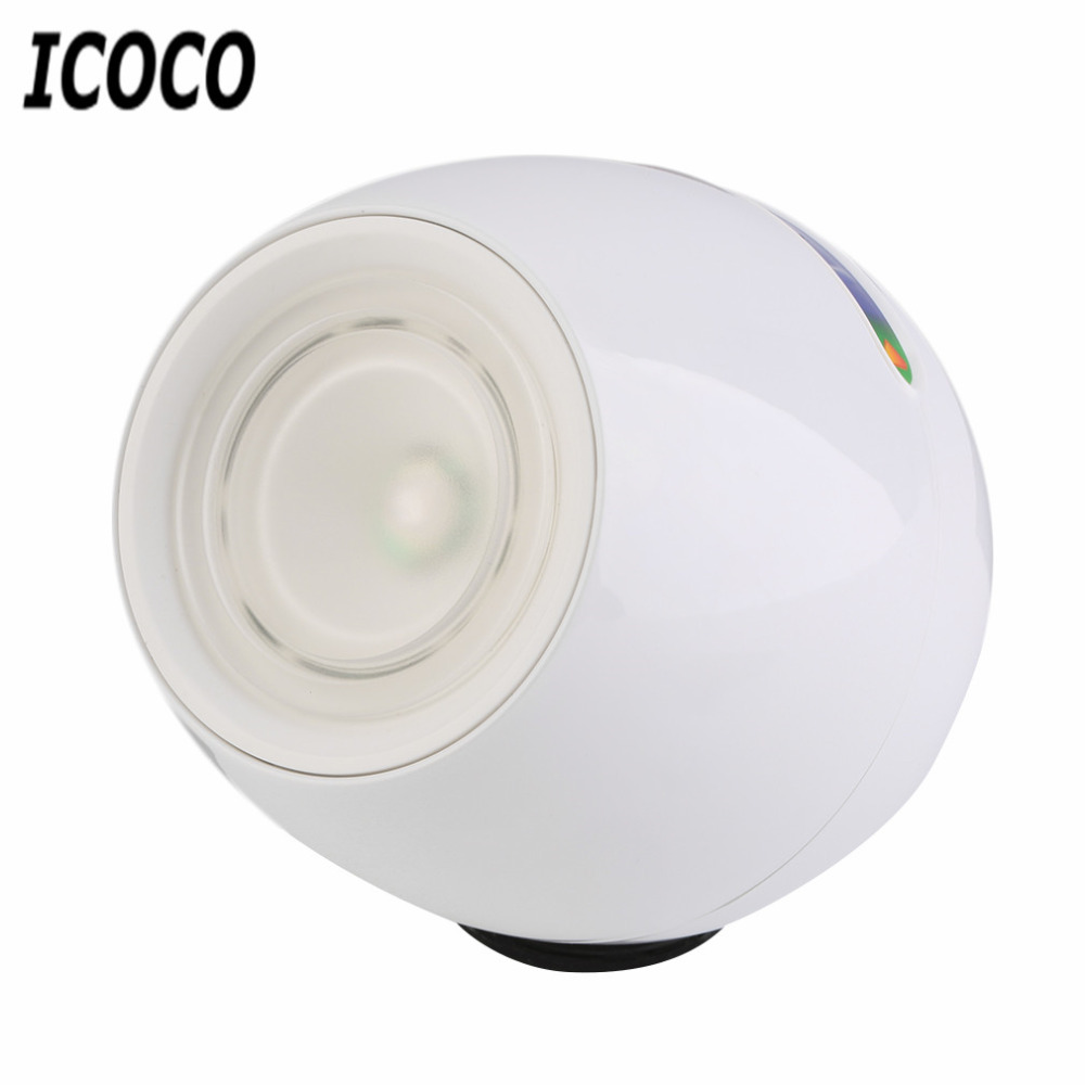 icoco newest fashion rechargeable digital 256 colors living color led mood lighting night light. Black Bedroom Furniture Sets. Home Design Ideas