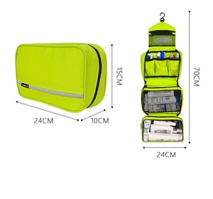 Image 5 - Men Large Waterproof Makeup Bag Male Female Travel Beauty Cosmetic Organizer Case Big Necessaries Make Up women Toiletry Pouch